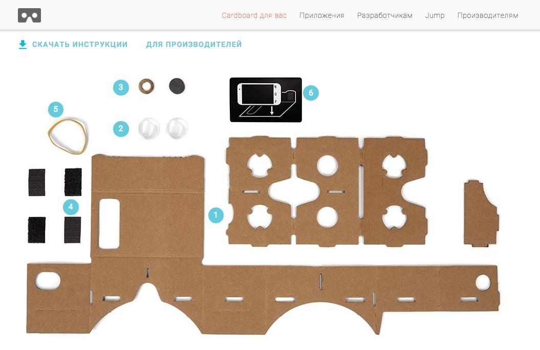 Очки виртуальной реальности для смартфона своими руками фото 525