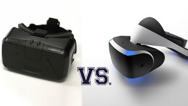 Oculus Rift DK2 VS Playstation Project Morpheus