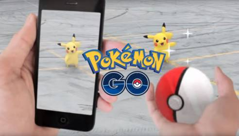 Pokemon Go игра с дополненной реальностью